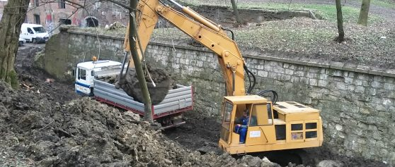 Realizacja: prace przy rewitalizacji Fortu w Krakowie