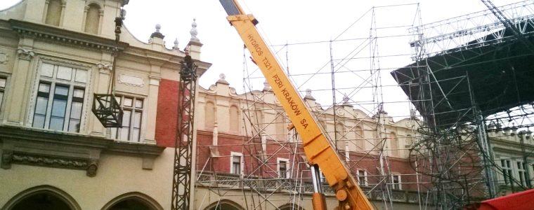Realizacja: Nasz Żuraw na Sylwestrze w Krakowie