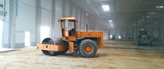 Realizacja: wykonanie stabilizacji terenu pod hale