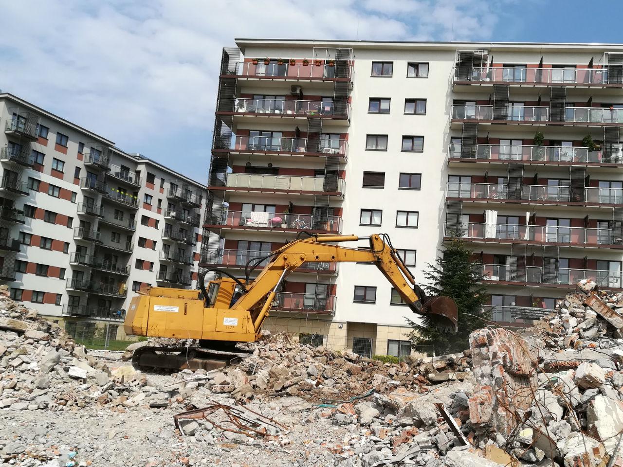Wyburzenia Kraków Małopolska usługi