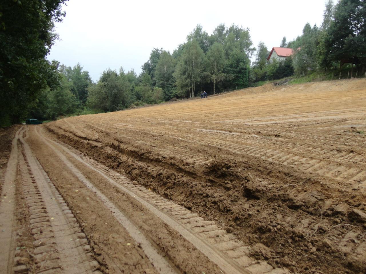 wyrównanie terenu Kraków Małopolska