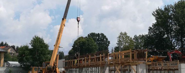 Usługi dźwigowe dźwig do wynajęcia Kraków Małopolska