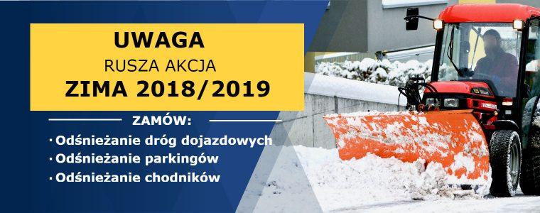 UWAGA! RUSZA AKCJA ZIMA 2018/19
