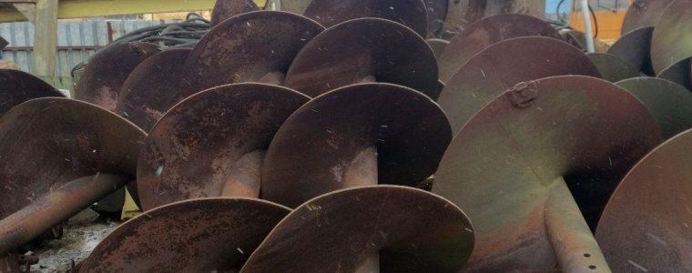 świdry ślimakowe sprzedam licytacja kraków