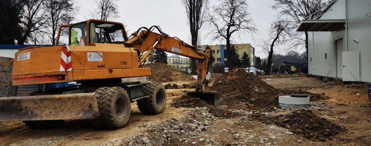 Realizacja: budowa parkingu w  Krakowie