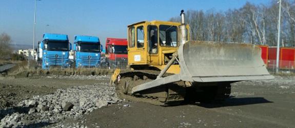 Realizacja: wykonanie parkingu dla pojazdów ciężarowych