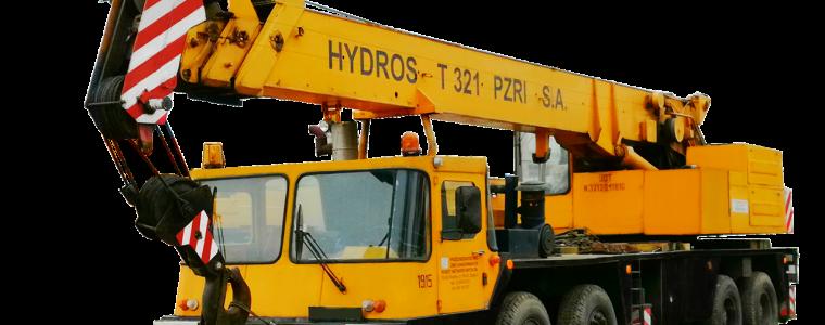 ŻURAW SAMOJEZDNY HYDROS T 321 (nr ewid 1070)