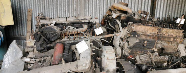 silnik sw 680 bez głowic na sprzedaż części kraków