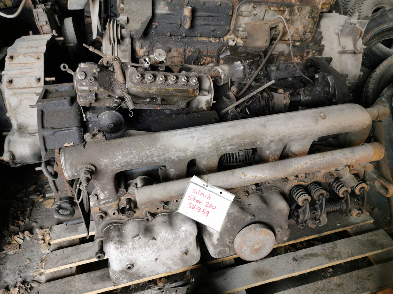 silnik star 200 części kraków