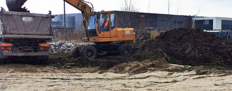 Realizacja: stabilizacja gruntu Niepołomice