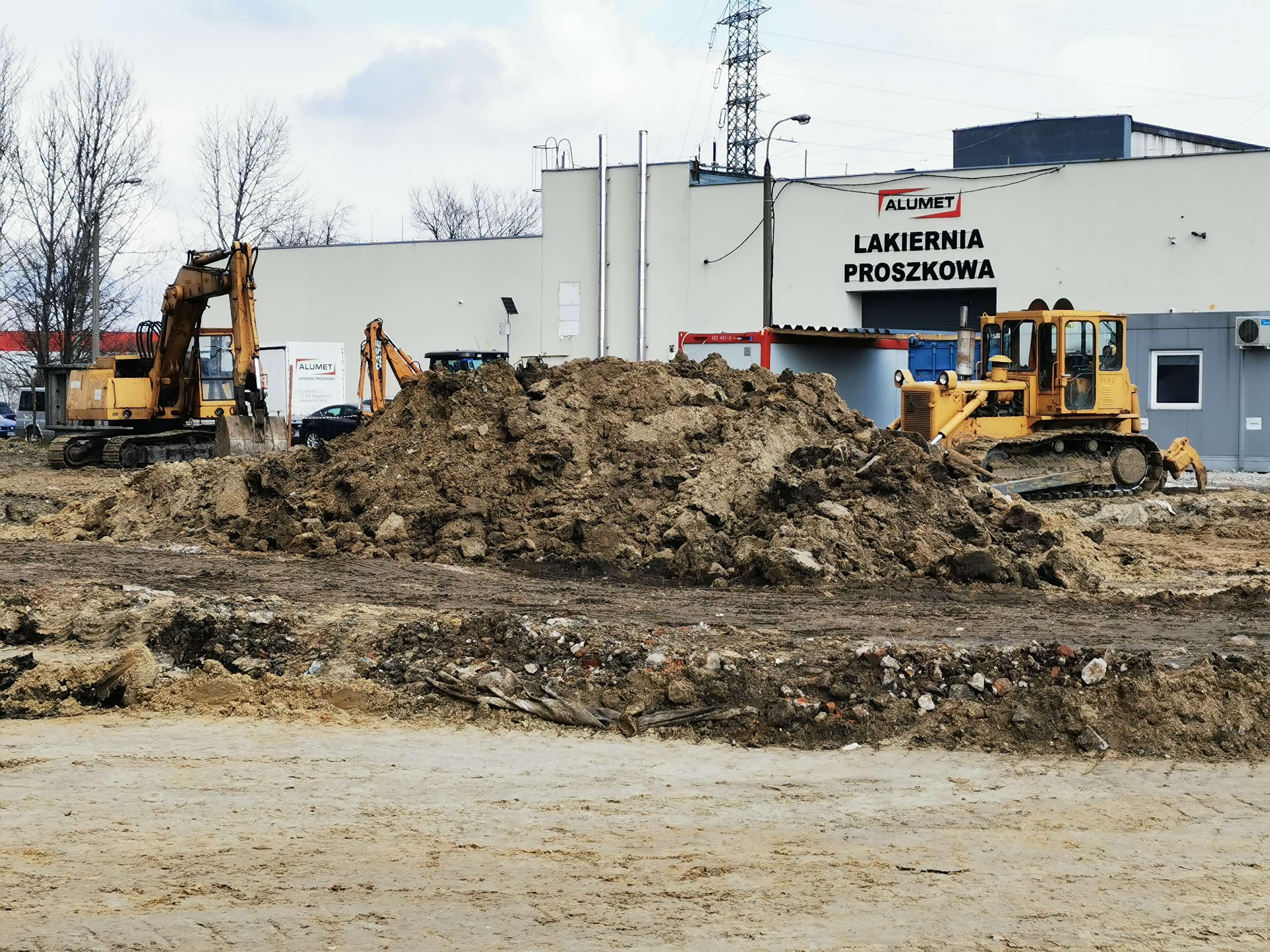 Stabilizacja gruntu wykopy roboty ziemne Kraków Niepołomice
