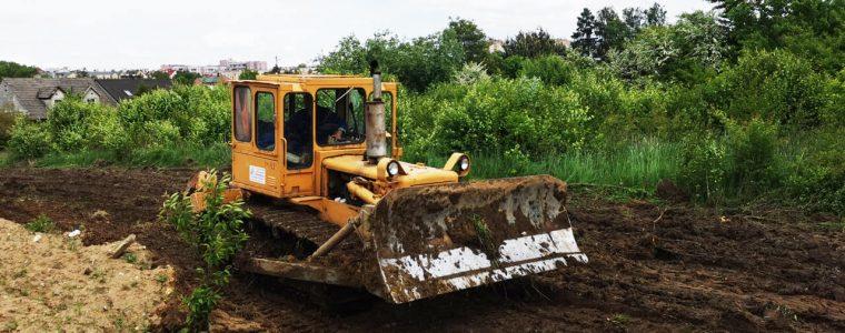Realizacja: przygotowanie gruntu pod budowę