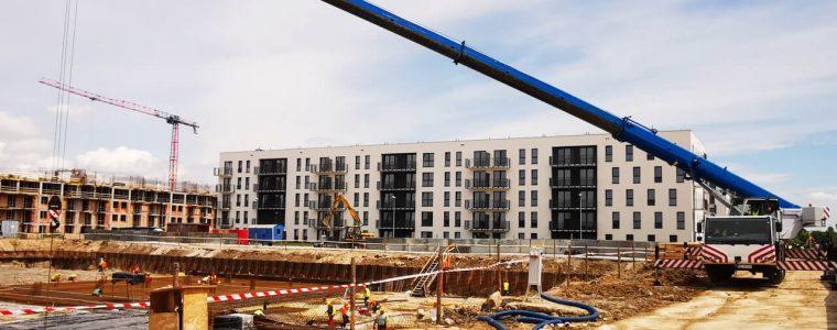 Realizacja: budowa budynku mieszkalnego z garażami