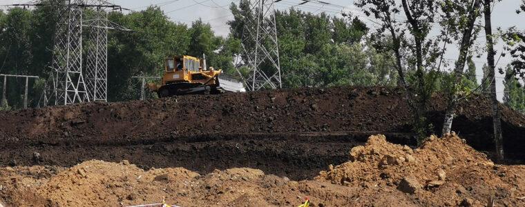 Realizacja: przygotowanie gruntu – ul. Igołomska